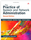 Second Edition Cover: The Practice of System and Network Administration
